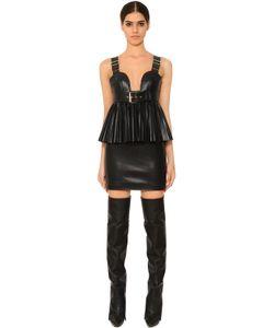 Givenchy | Платье Из Искусственной Кожи