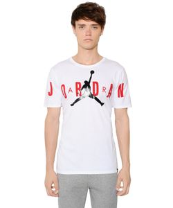 Nike | Air Jordan Printed Cotton T-Shirt