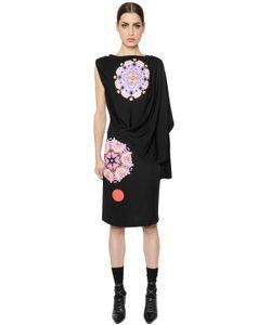 Givenchy | Платье Из Крепа С Принтом Калейдоскоп