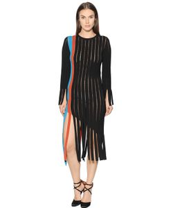 Marco De Vincenzo | Fringed Milano Jersey Dress