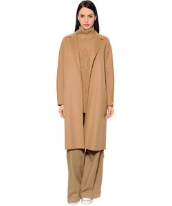'S Max Mara | Belted Virgin Wool Long Coat