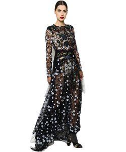 Antonio Marras | Платье Из Кружева Макраме С Вышивкой