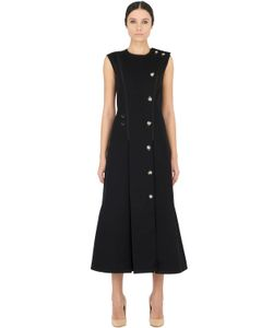 ANNE SOFIE MADSEN | Платье Из Полушерстяного Габардина