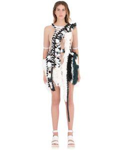 ANNE SOFIE MADSEN | Платье Из Шёлкового Жоржета