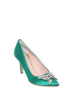 ARUNA SETH | Туфли Из Шёлкового Атласа 70mm