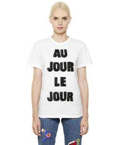 Au Jour Le Jour | Футболка С Вышивкой