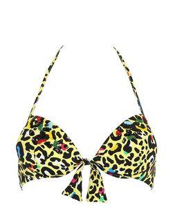 Blugirl Beachwear | Топ Бикини Из Лайкры С Леопардовым Принтом