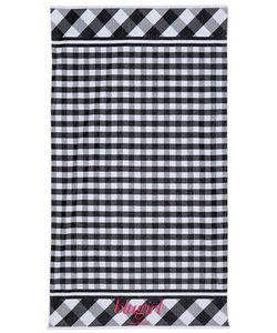 Blugirl Beachwear | Пляжное Полотенце Из Махровой Ткани В Клетку