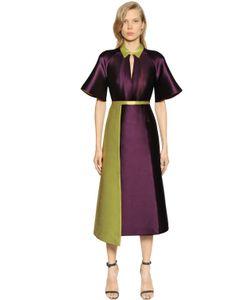 Caterina Gatta | Платье Из Двойного Шёлка Микадо