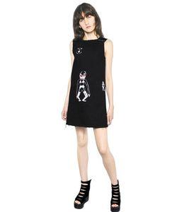 CLAIRE BARROW | Платье Из Деним С Принтом