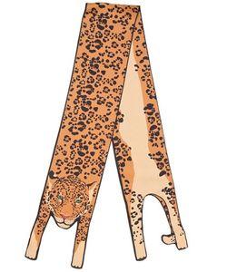 CLEO FERIN MERCURY | Шарф Jaguar Из Шёлковой Саржи