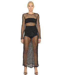 COPURS | Платье Alessanora Из Сетчатого Стрейч Материала