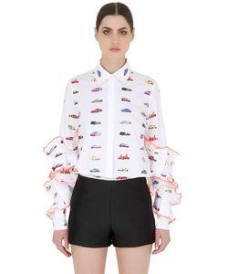 FYODOR GOLAN | Рубашка Из Хлопкового Стрейч Поплин