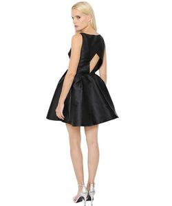 INGIE | Платье Из Дюшес С Вышивкой