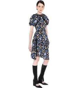 J.W. Anderson | J.W.Anderson Платье Из Крепдешина С Принтом