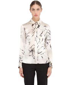 LARUSMIANI | Рубашка Из Шёлкового Атласа