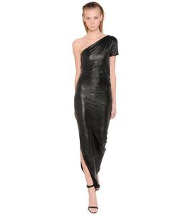 LILIANA CONTI MAGARÌA | Платье Из Ламинированной Вискозы