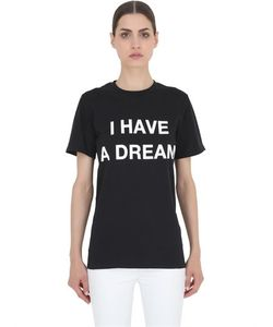 LUISAVIAROMA SPECIAL PROJECTS | Футболка Из Хлопка С Принтом I Have A Dream