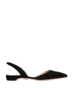 Paul Andrew | 15mm Rhea Suede Pointed Toe Flats