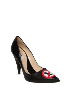Moschino | Кожаные Туфли No Heels 100mm