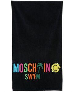MOSCHINO BEACHWEAR | Хлопковое Пляжное Полотенце Moschino Swim