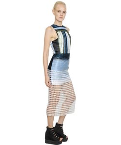 NATARGEORGIOU | Платье Из Вискозы И Люрекса