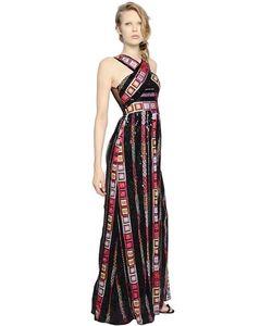 PAT BO | Платье Из Органзы