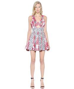 PAT BO | Платье Из Жаккарда С Цветочным Мотивом