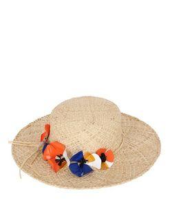 PATRIZIA FABRI | Соломенная Шляпа С Декоративными Цветами