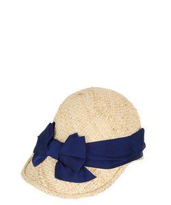 PATRIZIA FABRI | Соломенная Шляпа С Бантом Из Гросгрейн