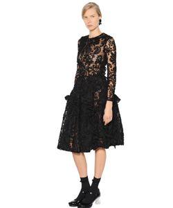 Simone Rocha | Платье Из Тюля И Синели