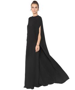 Valentino | Платье Из Шёлкового Кади