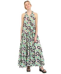 YVONNE S | Хлопковое Платье С Принтом