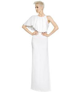 Antonio Berardi | Платье Из Техно Крепа