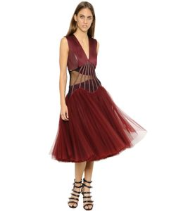Christopher Kane | Платье Из Тюля