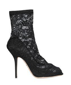 Dolce & Gabbana | Ботильоны Bette Из Стрейч Кружева 105mm