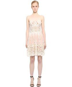 FABIANA MILAZZO | Кружевное Платье С Вышивкой
