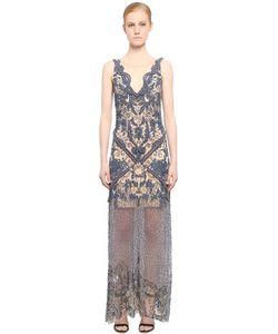 FABIANA MILAZZO | Платье Из Тюля С Вышивкой