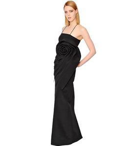 Francesca Piccini | Платье Из Шелкового Кади