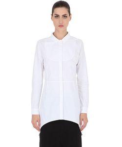 Gattacicova | Рубашка Из Хлопкового Поплин С Пластроном