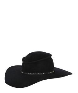 GLADYS TAMEZ MILLINERY | Шляпа Taurus Из Велюра И Фетра