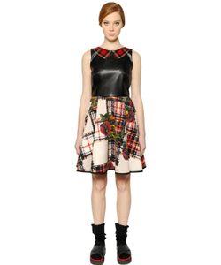 I'm Isola Marras | Платье Из Неопрена И Искусственной Кожи