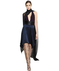 JUAN CARLOS OBANDO | Платье Из Шелка