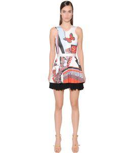 Just Cavalli | Платье Из Вискозного Джерси С Принтом