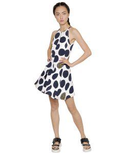 Kenzo | Платье Из Вискозного Крепа