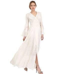 LARUSMIANI | Платье Из Хлопка И Шелка