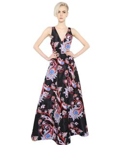 Mary Katrantzou | Платье Из Шёлковой Саржи С Принтом Пейсли