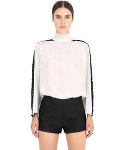 NENA RISTICH | Рубашка Из Шёлка С Кружевом