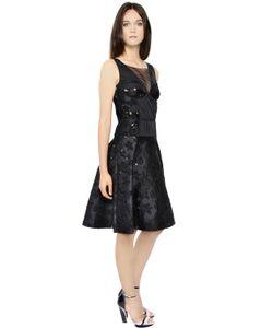 Nina Ricci | Платье Из Хлопкового Жаккарда