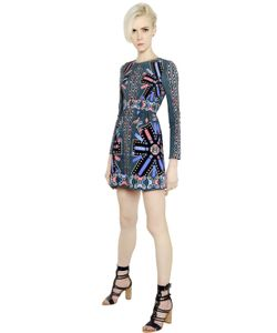 Peter Pilotto | Платье Из Крепа С Принтом